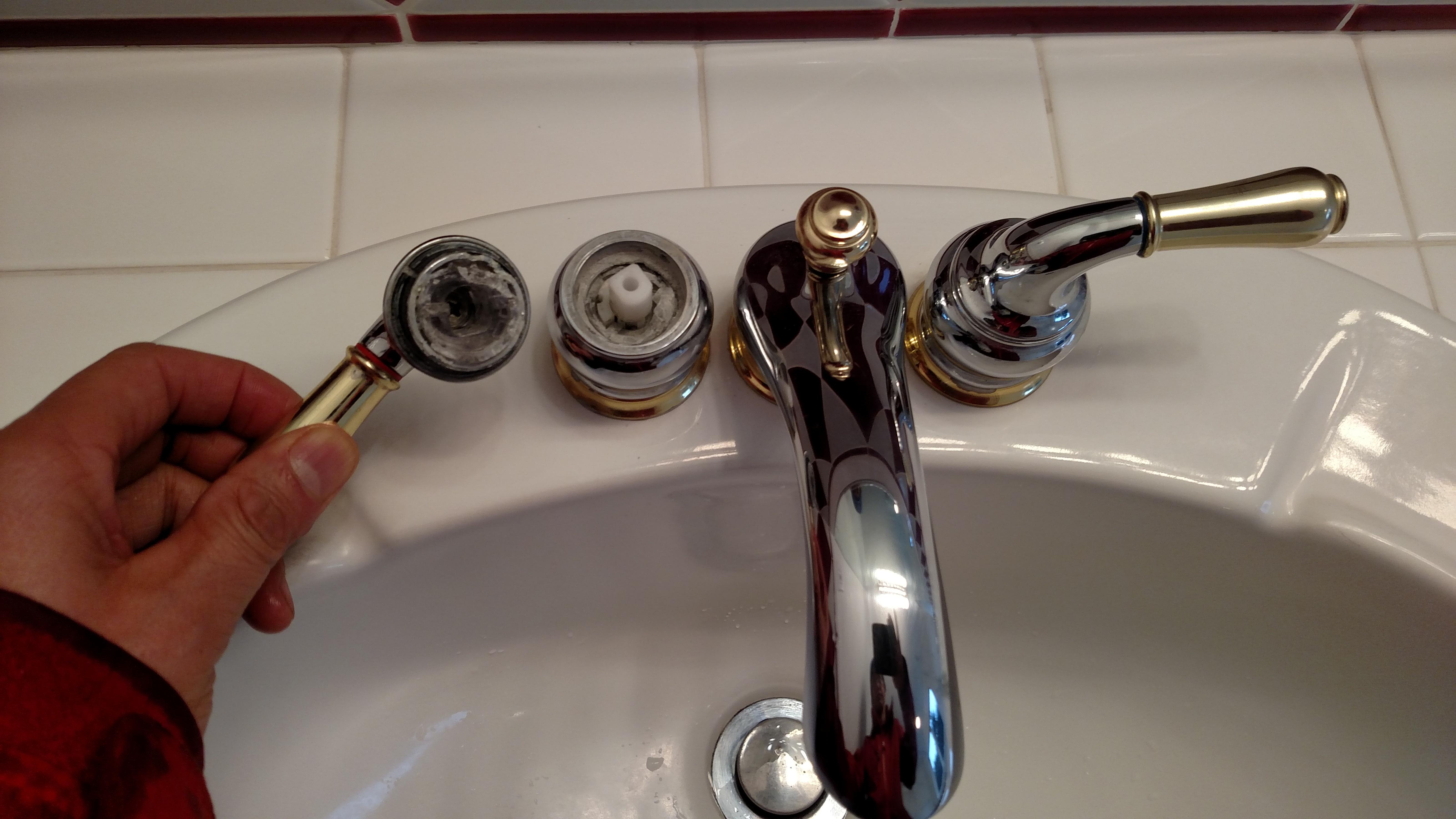 Moen Bathroom Faucet Handle Fell Off Image Of Bathroom And Closet